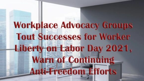 A Word From President Mark Mix This Labor Day 2021