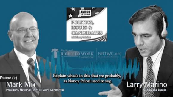 Biden-Pelosi-Schumer Plan To Reward Big Labor Bosses with Billions from Taxpayers