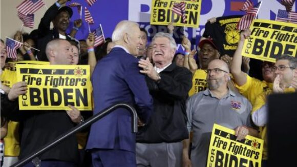 Biden Big Labor Pal Accused of Raiding Union Pension Fund