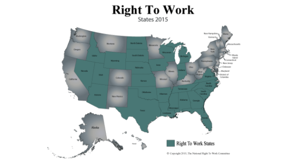 NRTWC Release: Wisconsin Enacts Nation's 25th Right to Work Law