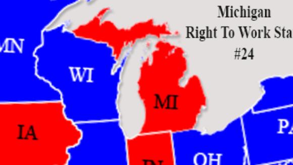 Michigan Big Labor At War With Worker Freedom in Michigan
