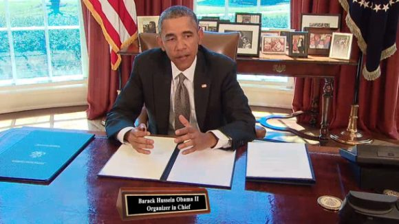 Obama Vetoes Workers' Rights, Empowers Union Bosses