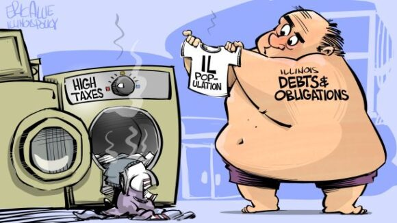 Illinois: Rising Debt, Fleeing Taxpayers
