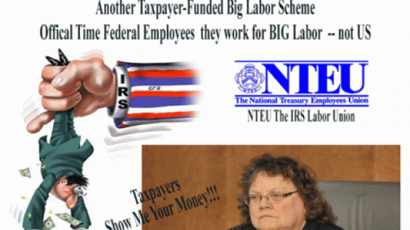U.S. Taxpayers pay $23.5 Million to Subsidize Politically Active IRS Union