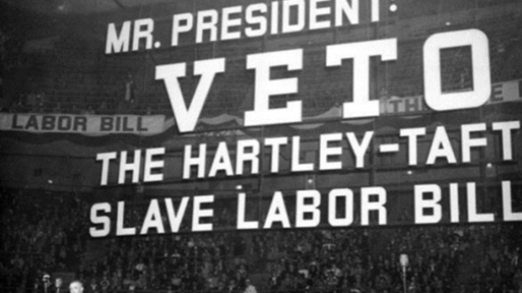This Day in History Truman Bows to Big Labor Bosses